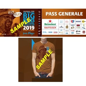 Festivalpass + T-Shirt