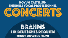 Requiem de Brahms version 2 pianos