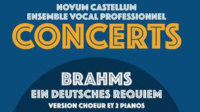 Requiem de Brahms pour choeur et 2 pianos