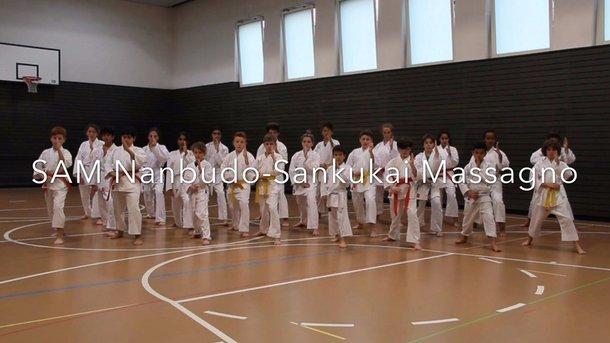 Piccoli talenti della SAM Nanbudo Sankukai Massagno