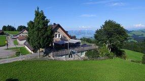 Neue Schmutzwasserleitung für das Berggasthaus Rossberg