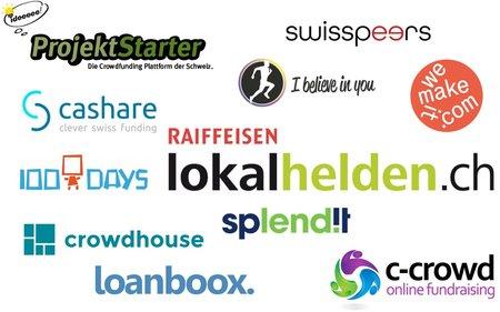 11 Schweizer Crowdfunding-Plattformen im Vergleich – diese solltest du kennen