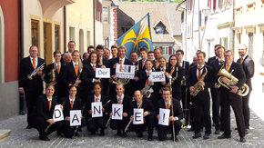 Softshelljacken für den Musikverein Langnau