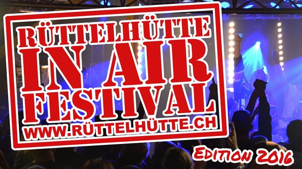 Rüttelhütte In Air Festival 2017