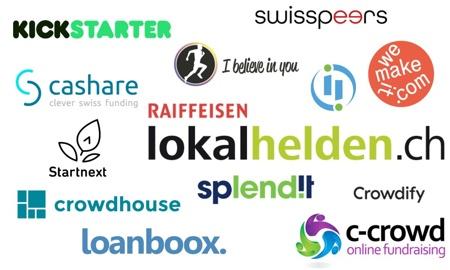 13 Schweizer Crowdfunding-Plattformen im Vergleich – diese solltest du kennen