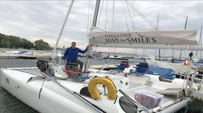 Just for Smiles: catamaran