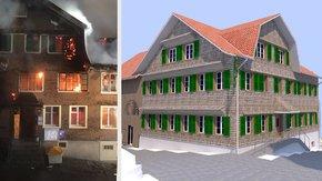 Neubau «Sternen» in Sternenberg: Realisierung optischer Details