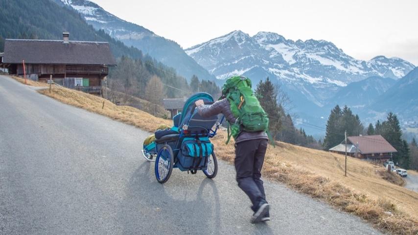 Handicapable : un exploit en chaise roulante