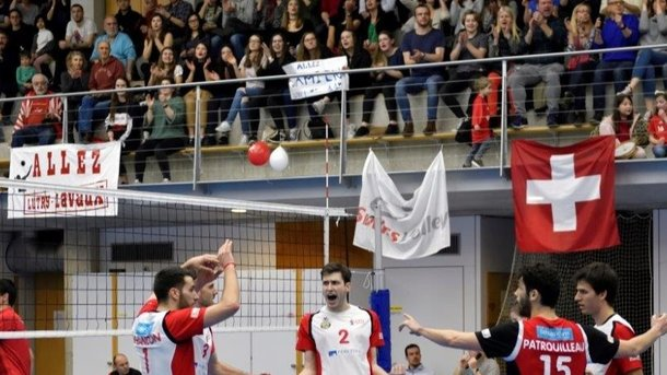 Lutry-Lavaux Volley en Ligue Nationale A !
