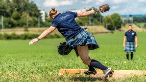 Schickt Chris und Tom an die Highland Games Weltmeisterschaften