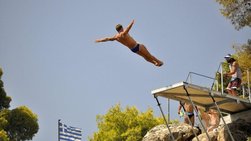 Lugano Cliff Diving