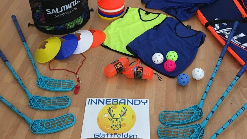 Trainingsmaterial INNEBANDY Glattfelden