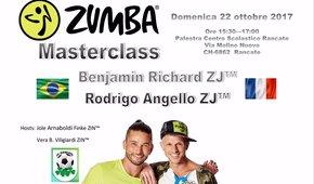 Zumba® Masterclass con Benjamin Richard e Rodrigo Angello