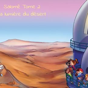 Salomé (Tome 2) - La BD suisse d'initiation à l'astronomie