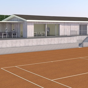 Tennis Club Porrentruy: rénovation des installations