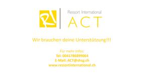 ACT 2018: Studentisches Austauschprojekt St. Gallen-Singapur