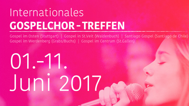 Mighty Wind - internationales Gospelchor-Treffen 1.-11. Juni 2017