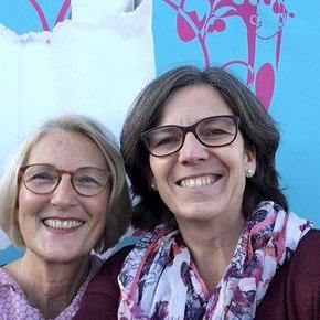 Carola Bitzer und Verena Frauenfelder