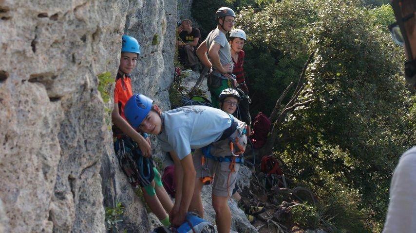 Softshelljacke für Kletterverein JO Rhein