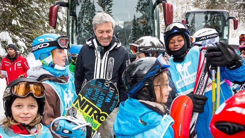 «snow for free» - gratis auf die Skipisten!