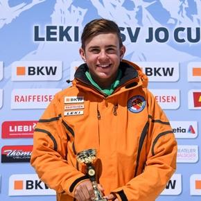 Vom Junioren-Schweizermeister ins Nationalkader Livio Hiltbrand