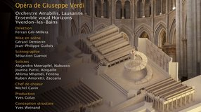 Nabucco de Giuseppe Verdi à la Cathédrale de Lausanne