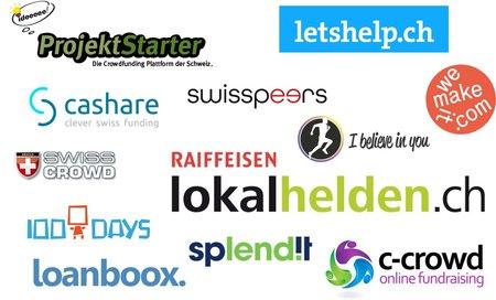 12 Schweizer Crowdfunding-Plattformen im Vergleich – diese solltest du kennen