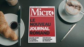 Micro, le nouveau journal papier romand