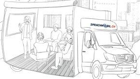 sprachmobil.ch – Der mobile Lern-Begegnungsraum für Geflüchtete