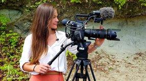 Unterstützung für Umweltschutzfilme / Kameraausrüstung und Filmproduktion
