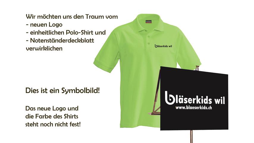 Neues Logo und Outfit für Bläserkids