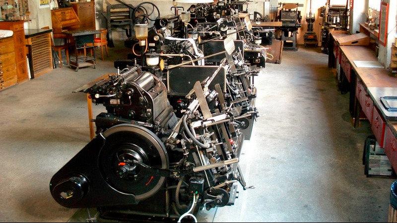 Déménagement de l'atelier typographique Le Cadratin à Sottens