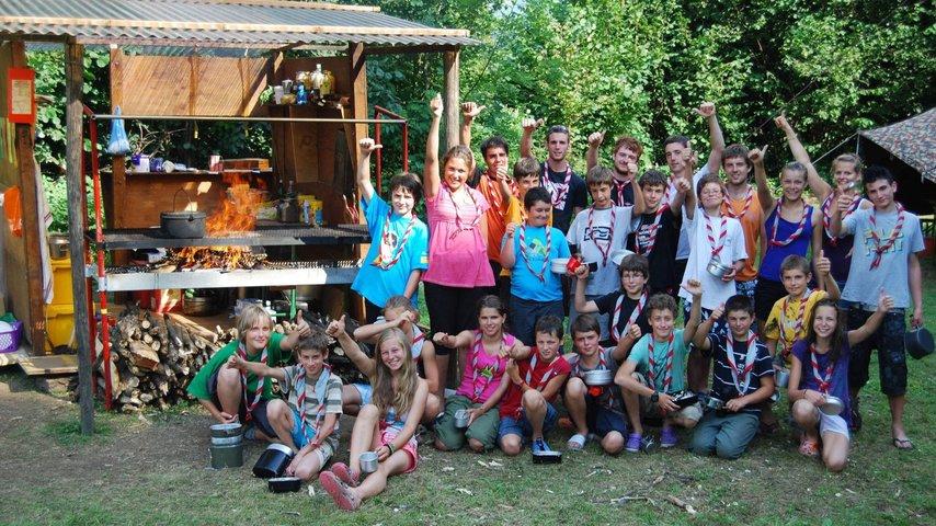 Griglia-cucina scout Sassifraga Vallemaggia