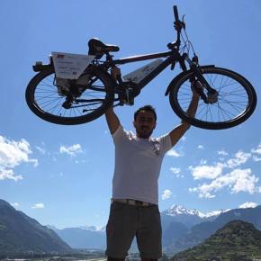 Sion - Tokyo à vélo contre l'AVC