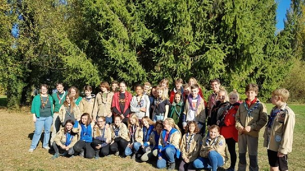 38 scouts vont en 2019 en WEST VIRGINIA,USA