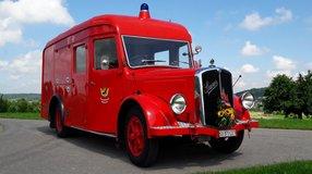 """Sanierung Feuerwehroldtimer Saurer 1953 KAW2 """"Witterswilli"""""""