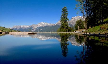 Inauguration du lac de Ftan!