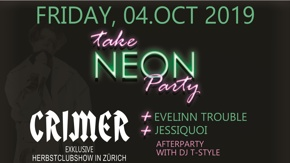 """Take Neon Party"" Event mit TOP Live Acts und toller Kulisse"