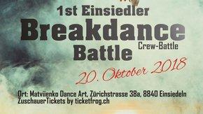 1st Einsiedler Breakdance Battle