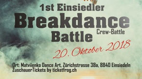 1st Einsiedler Breakdance Battle