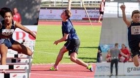 Leichtathletik Anlage für die Region