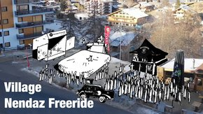 Village Nendaz Freeride