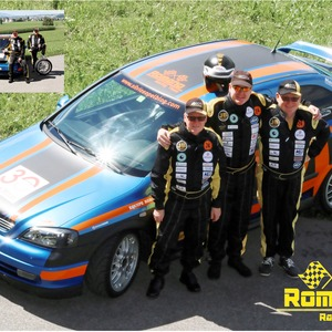 A2 Poster vom Racing Team