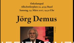 Benefizkonzert von Jörg Demus für das Ita Wegman Mutter-Kind-Haus