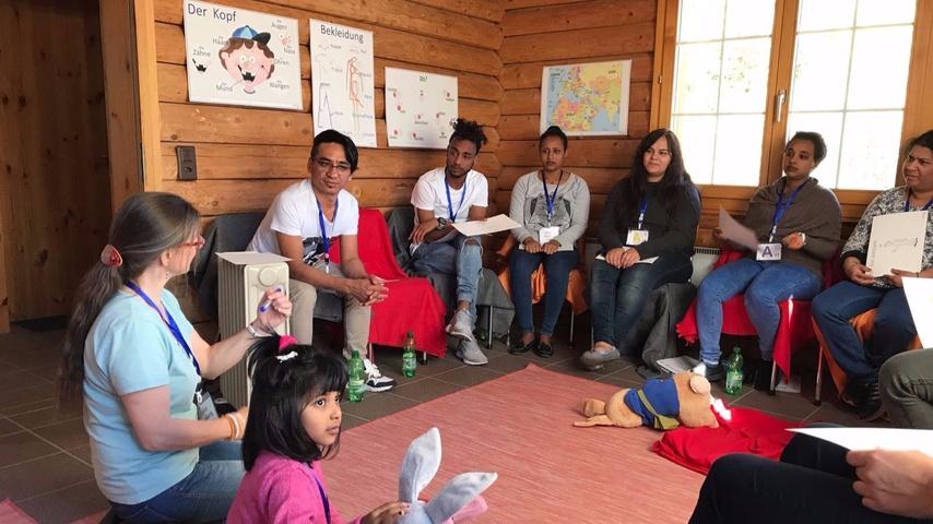 Erlebnisprojekt mit Asylbewerbern
