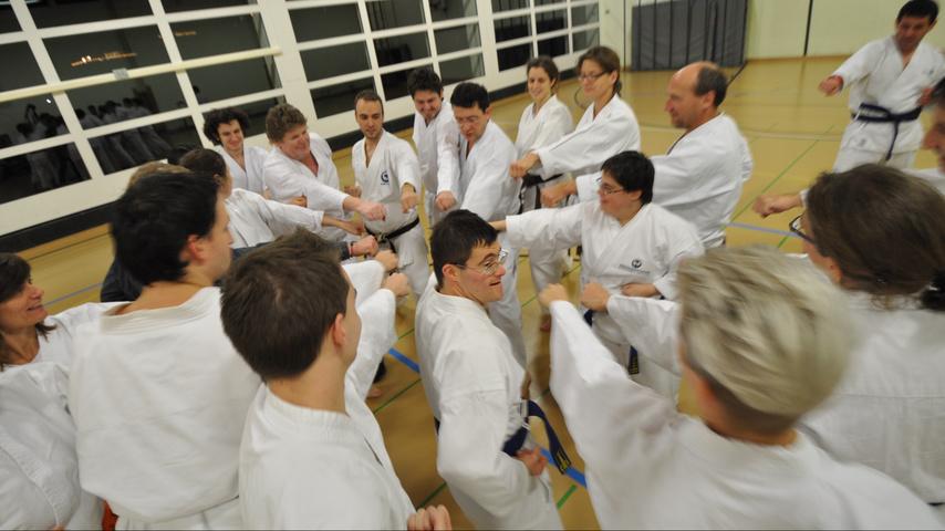 Karate für Menschen mit Behinderungen