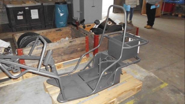 Davids E-Mofa-Trike