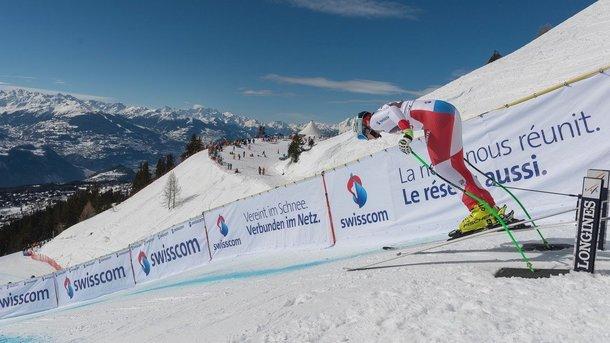 Speedstrecke für Ski Alpin Nachwuchs Grimentz-Zinal