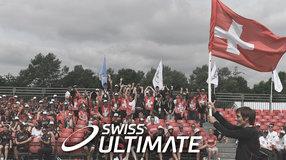 Maillots pour l'équipe nationale féminine suisse d'Ultimate
