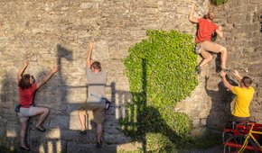 Quergang - Bouldern in Rapperswil-Jona